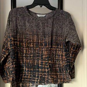 Max Mara silk blouse, size Small